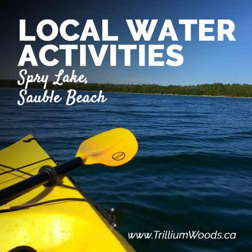 Local Water Activities