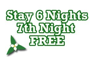 Stay 6 Nights and Get the 7th Night FREE